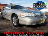 2003 Lincoln Town Car Cartier Edition Leather Moonroof Only 110K Like Ne