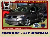 2017 Honda Fit EX - SUNROOF - 6SP MANUAL!