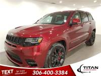 2017 Jeep Grand Cherokee SRT 4x4 Cam Leather Nav Sunroof PST Paid