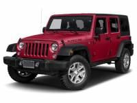 2017 Jeep Wrangler Unlimited Rubicon 4x4 SUV in Metairie, LA