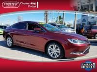 Certified 2015 Chrysler 200 Limited Sedan in Jacksonville FL