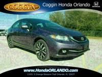 Certified 2015 Honda Civic EX-L Sedan in Jacksonville FL