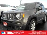 Certified Pre-Owned 2016 Jeep Renegade Latitude FWD SUV Front-wheel Drive in Klamath Falls