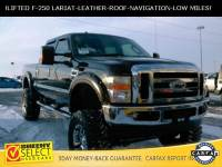 2009 Ford F-250 !LOW Mileage Lifted F-250 Lariat! Truck Crew Cab V-8 cyl