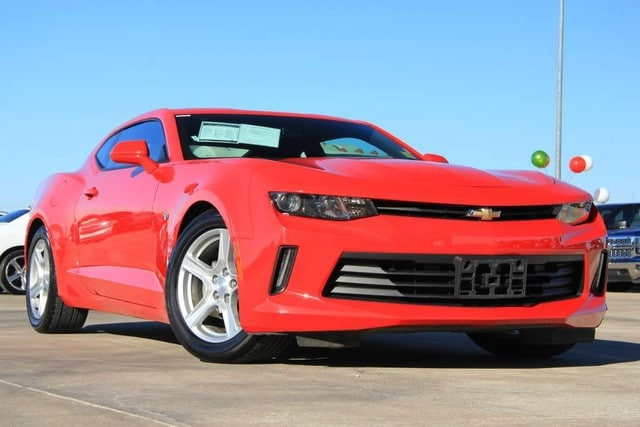 Photo Used 2017 Chevrolet Camaro ONLY 12K MILES ONE OWNER FACTORY WARRANTY in Ardmore, OK