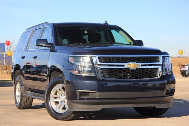 Photo Used 2017 Chevrolet Tahoe 4X4 ONE OWNER 18K MILES FACTORY WARRANTY in Ardmore, OK