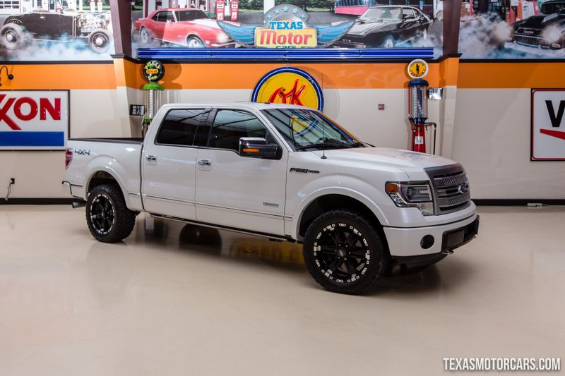Used 2013 Ford F-150 Platinum 4X4