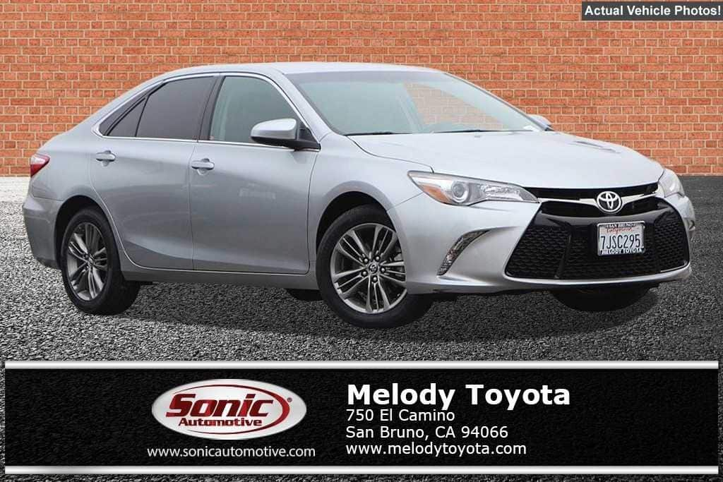 2015 Toyota Camry SE Sedan in San Bruno