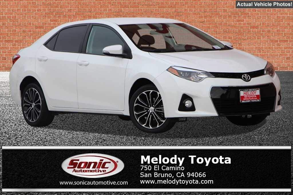 2016 Toyota Corolla S Plus Sedan in San Bruno