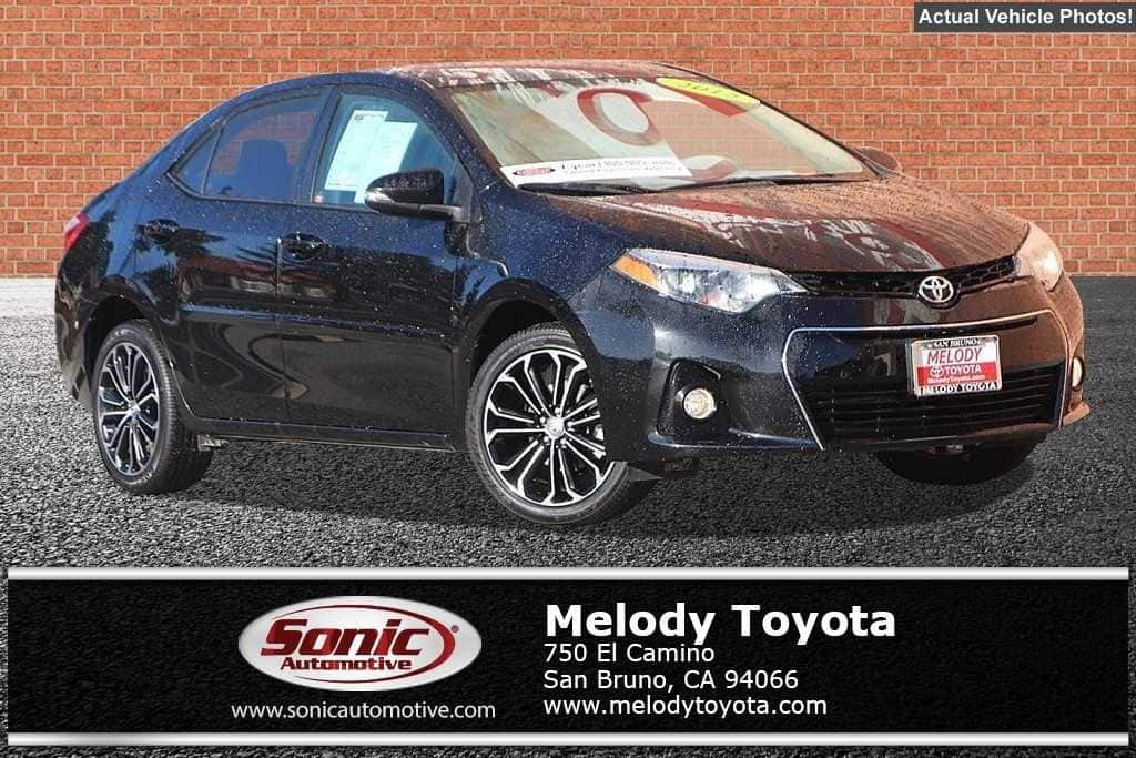 2015 Toyota Corolla S Plus Sedan in San Bruno