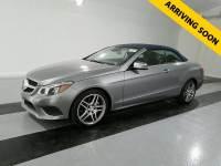 2014 Mercedes-Benz E-Class E 350 Cabriolet $13K OPTIONS, AMG WHEELS, LIGHTING PKG, DRIVER ASSIST PKG,