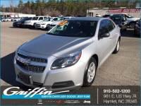 2013 Chevrolet Malibu LS w/1LS Sedan Rockingham, NC