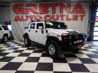 2005 HUMMER H2 SUT LUXURY 4X4 HEATED LEATHER ROOF IN-DASH DVD!