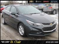 Certified Pre-Owned 2017 Chevrolet Cruze LT Hatchback For Sale Saint Clair, Michigan