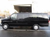 2012 Ford Econoline E-350 Extended 15 Passenger Van Black