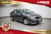 Used 2010 Toyota Corolla Automatic S in El Monte