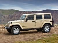 Pre-Owned 2013 Jeep Wrangler Unlimited Sahara 4D Sport Utility 4WD