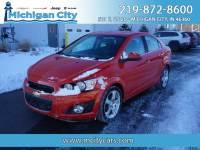 2012 Chevrolet Sonic LZ (A6) Sedan