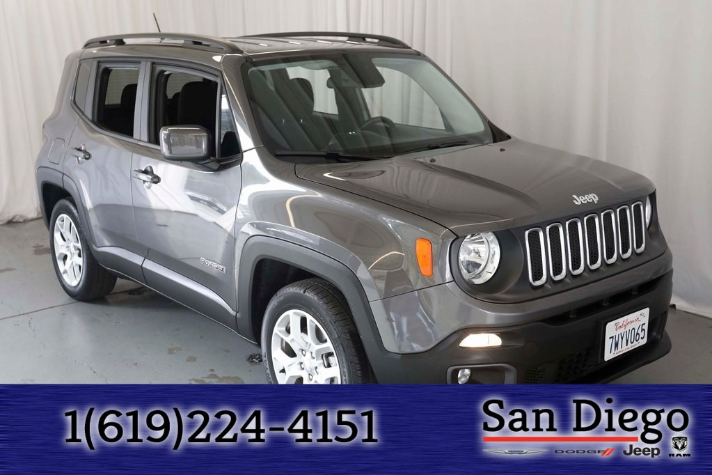 Certified 2016 Jeep Renegade Latitude FWD SUV in San Diego