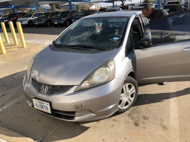 Photo 2009 Honda Fit Base For Sale Near Fort Worth TX  DFW Used Car Dealer
