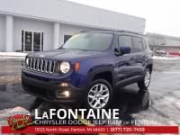 CERTIFIED PRE-OWNED 2016 JEEP RENEGADE LATITUDE 4WD
