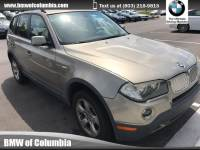 2008 BMW X3 3.0si 3.0si SAV All-wheel Drive