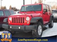 2014 Jeep Wrangler Unlimited Sport 4x4 Sport SUV 4WD