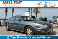 Pre-Owned 2001 Buick LeSabre 4dr Sdn Custom 4dr Car
