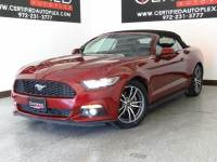 2017 Ford MUSTANG CONVERTIBLE ECOBOOST PREMIUM CARPLAY LEATHER HEATED/COOLED SEATS REAR CAMERA SHAKER