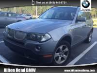 2007 BMW X3 3.0si * All-Wheel Drive * Heated Seats * Panoramic SAV All-wheel Drive
