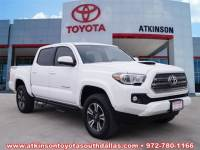 2017 Toyota Tacoma Truck Double Cab For Sale in Dallas TX | Toyota Certified Used