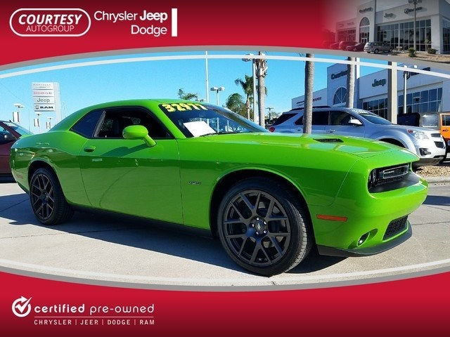 Certified 2017 Dodge Challenger R/T Plus Coupe in Jacksonville FL