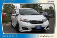 New 2018 Honda Fit Sport CVT FWD 4dr Car