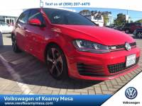 2015 Volkswagen Golf GTI Autobahn Sedan Front Wheel Drive