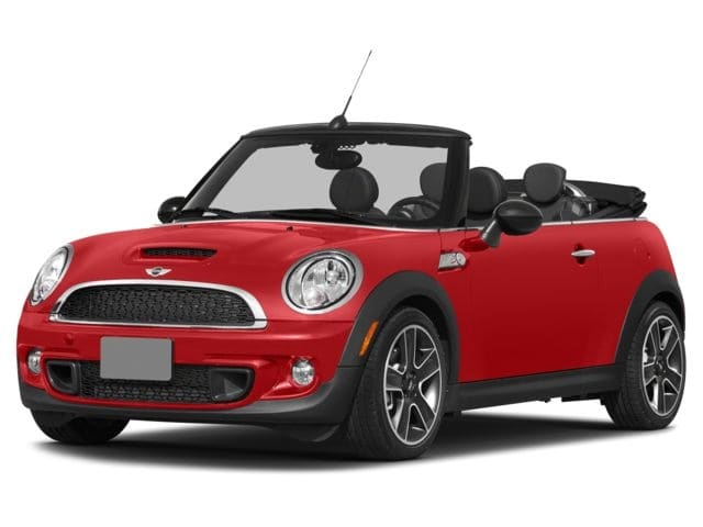 Photo Certified Used 2015 MINI Cooper Convertible Cooper S Convertible Convertible in Greenville, SC