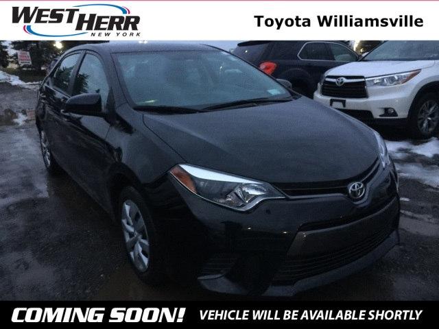 2015 Toyota Corolla LE Sedan For Sale - Serving Amherst