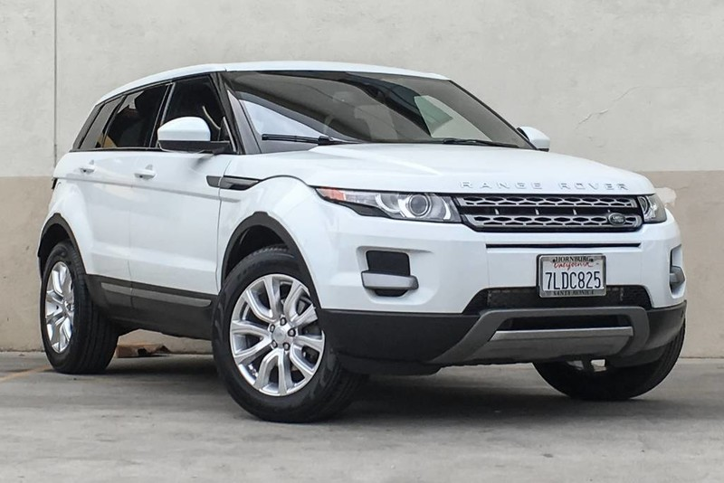 Photo Certified Pre-Owned 2015 Land Rover Range Rover Evoque Pure Four Wheel Drive SUV