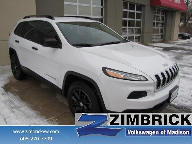 Photo Used 2015 Jeep Cherokee 4WD 4dr Sport Sport Utility in Madison, WI
