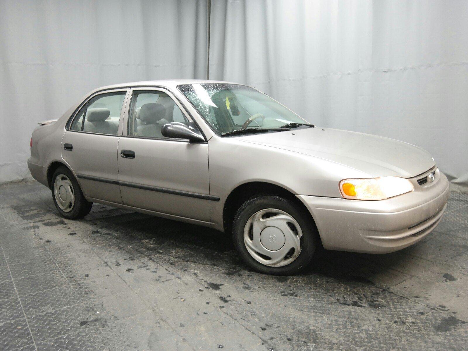 1999 Toyota Corolla Sedan Front-wheel Drive