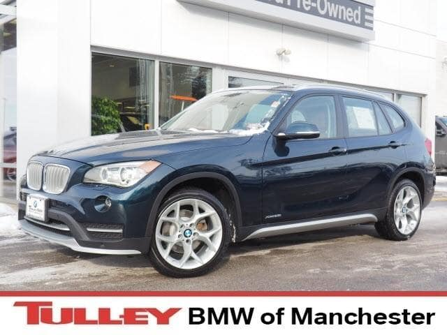 2015 Certified Used BMW X1 SUV xDrive28i Midnight Blue For Sale Manchester NH & Nashua   Stock:MP2399