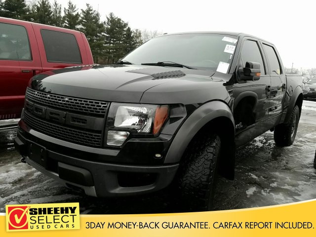 Photo Used 2011 Ford F-150 SVT Raptor Truck SuperCrew Cab V-8 cyl for sale in Richmond, VA