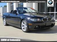 2005 BMW 325Ci Convertible 325Ci Convertible Rear-wheel Drive