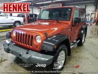 PRE-OWNED 2009 JEEP WRANGLER X 4X4 4WD