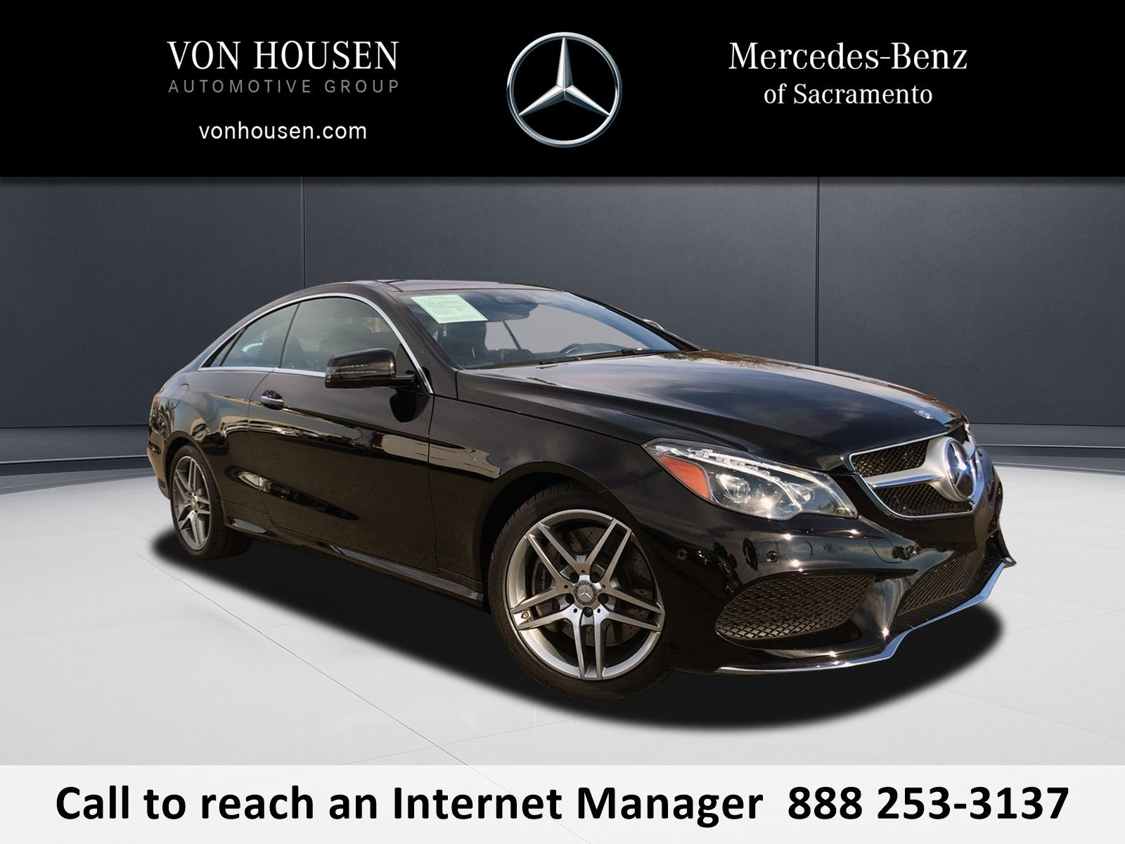 Pre-Owned 2014 Mercedes-Benz E 550 Sport RWD COUPE