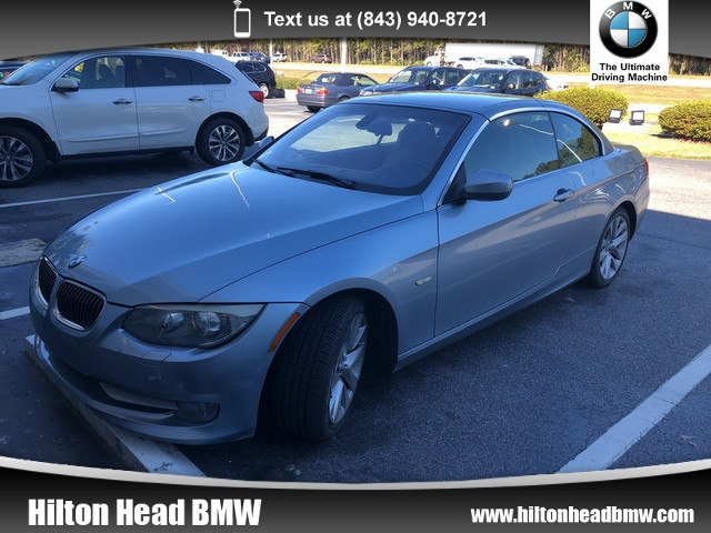 Photo 2011 BMW 328i Convertible 328i  One Owner Trade In  Heated Seats  Sate Convertible Rear-wheel Drive