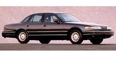 Photo Pre-Owned 1997 Ford Crown Victoria LX RWD 4dr Car