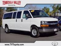 2013 Chevrolet Express 3500 LT Van Extended Passenger Van Rear-wheel Drive in Temecula