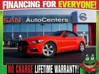 Used 2015 Ford Mustang V6 Convertible - Back Up Camera - Paddle Shifters For Sale Near St. Louis