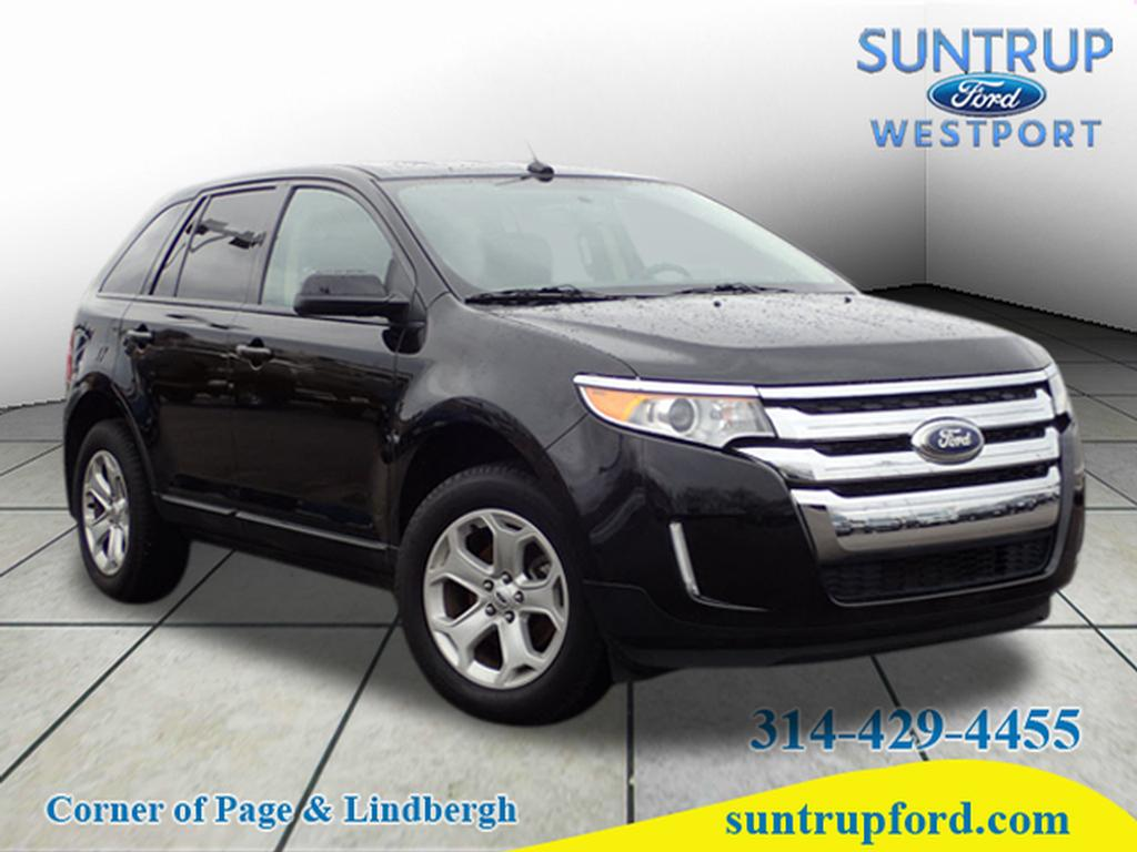 Photo Used 2014 Ford Edge SEL SUV V-6 cyl for Sale in Saint Louis, MO
