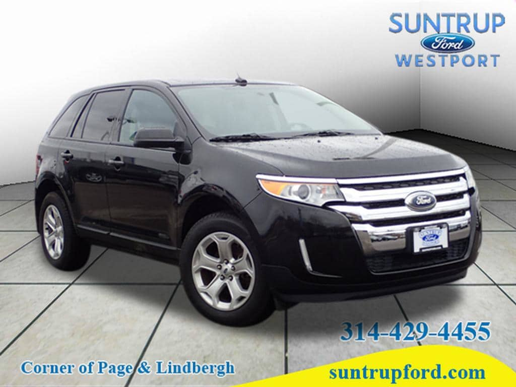 Photo Used 2014 Ford Edge SEL AWD SUV V-6 cyl for Sale in Saint Louis, MO
